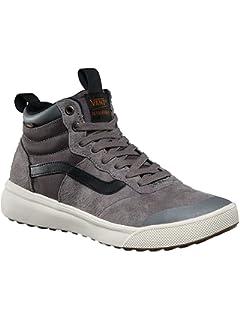 Vans UltraRange Hi MTE Mens 7 Womens 8.5 Pewter Grey Skate Shoes