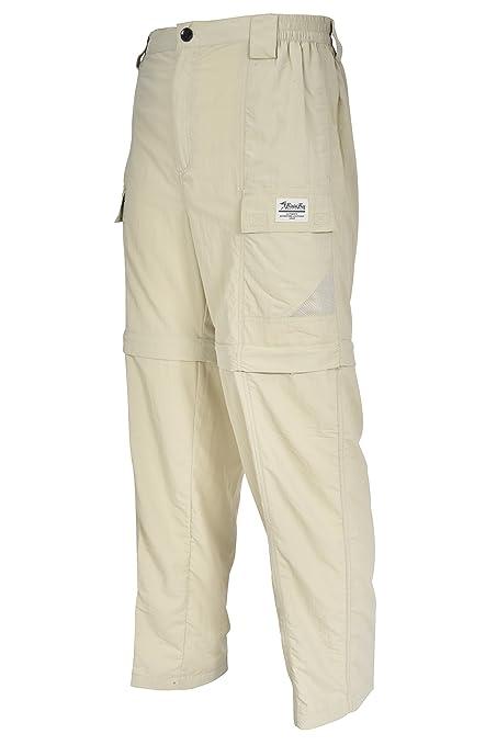 c010b56611b imini Bay Outfitters Men's Grand Cayman Zip-Off Nylon Pants 61670 Fossil M