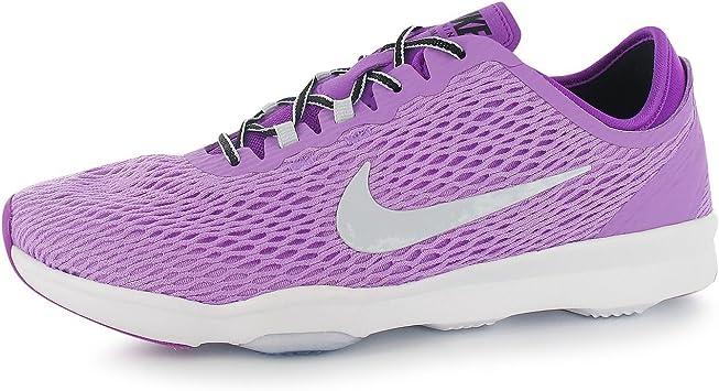 Janice Sin aliento Llave  Nike Zoom Fit Zapatillas de Entrenamiento para Mujer, Color Rosa/Plata  Gimnasio Fitness Zapatillas Zapatillas, Fuchsia/Silver: Amazon.es: Deportes  y aire libre