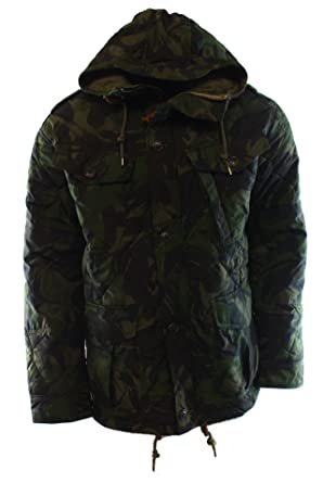 7c1664e0f Polo Ralph Lauren Garrison Camo Combat Jacket (Small) at Amazon ...