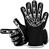 Heat Guardian Heat Resistant Gloves – Protective Gloves Withstand Heat Up To 932℉ – Use As Oven Mitts, Pot Holders, Heat Resi