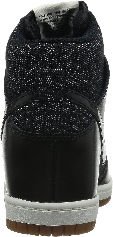 Nike Dunk Sky Hi Essential, Chaussures de Basketball Femme