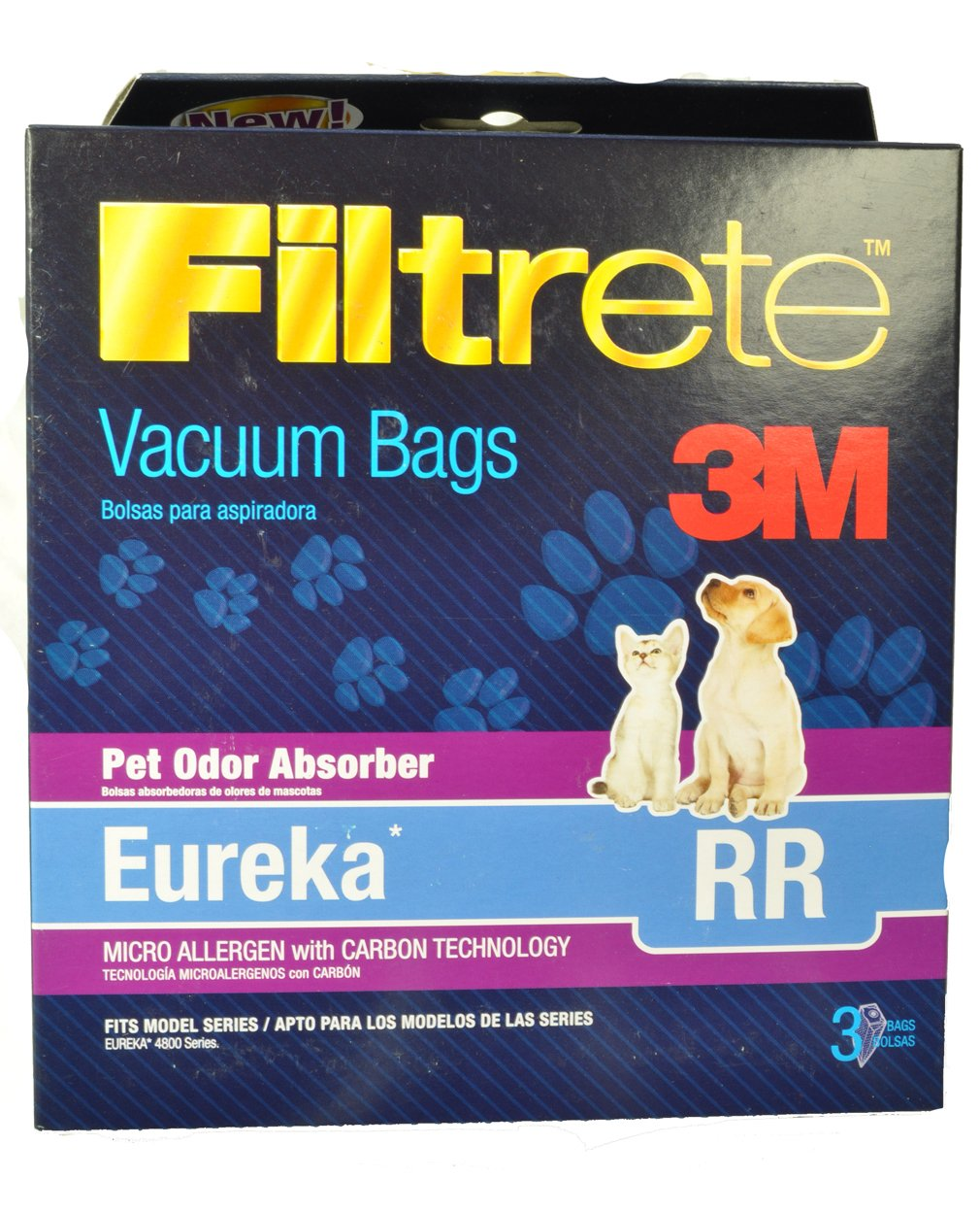 3M EUREKA RR ANTIMICROBIAL BAG by Filtrete