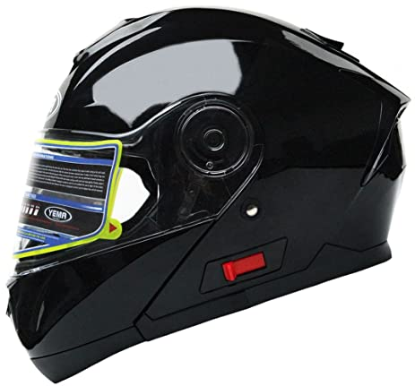 cf6d6c1c388 Motorcycle Modular Full Face Helmet DOT Certified - YEMA YM-926 Street Bike  Racing Snowmobile