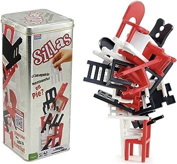 Falomir Sillas, Juego de Mesa, Habilidad, Color (646511): Amazon.es: Juguetes y juegos