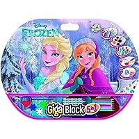 Disney Frozen Set Dibujo, 52 x 38 cm