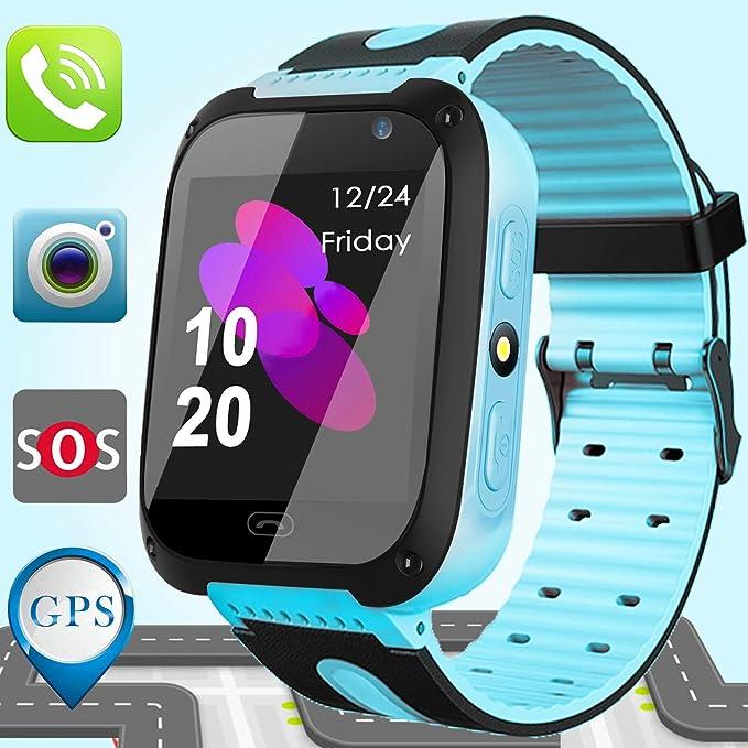 Amazon.com: Kids Smart Watch Phone GPS Tracker for Kids ...