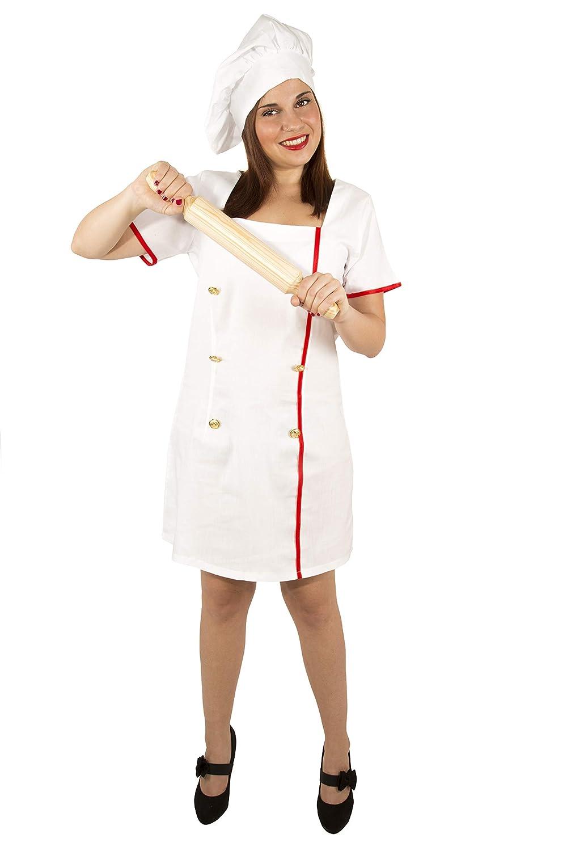 Costumizate! Disfraz de Cocinera Adulta Especial para Fiestas de ...