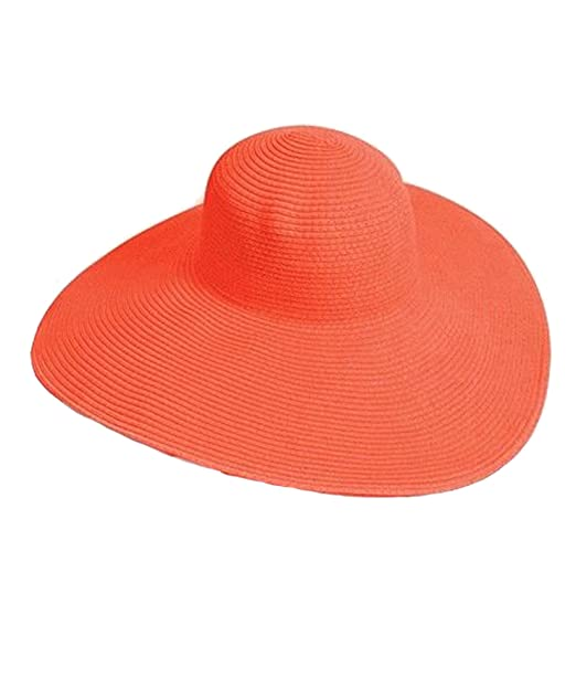 cc55a3cbc82d Image Unavailable. Image not available for. Color: Big Beautiful Solid  Color Floppy Hat ...