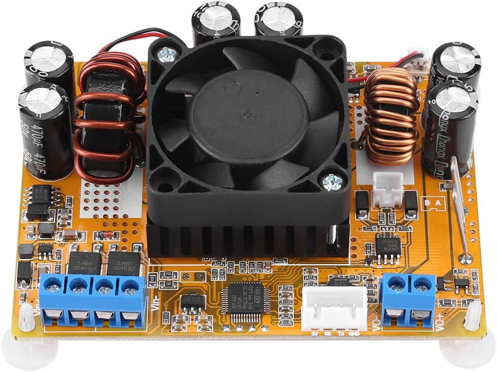 DC-DC-Abw/ärts- Aufw/ärtswandler Automatischer DC-DC-Aufw/ärts- Abw/ärtswandler DC-Spannungsversorgungsmodul 6V-32V bis 0-32V mit L/üfter
