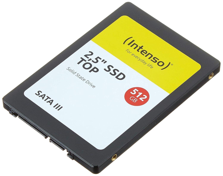 Intenso Unidad de estado sólido TOP SSD 512 GB, negro
