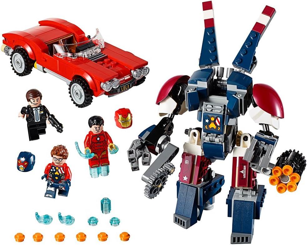 LEGO Marvel Super Heroes Iron Man: Detroit Steel Strikes 76077 Superhero Toy