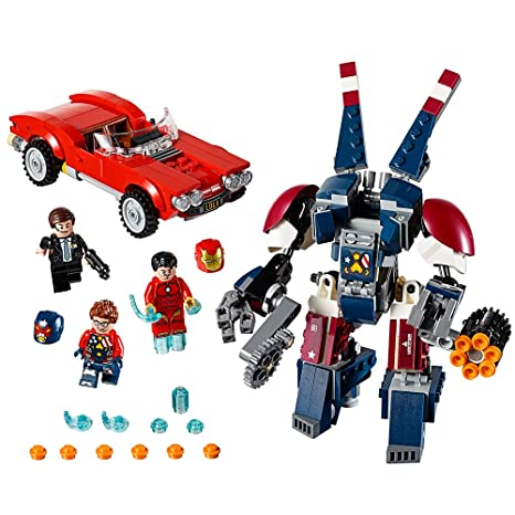 amazon com lego marvel super heroes iron man detroit steel strikes