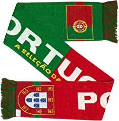 Portugal Soccer Knit Scarf