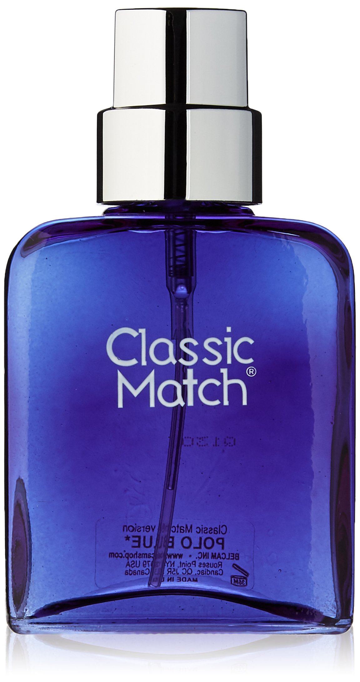 Classic Match, version of Polo Blue, Eau de Toilette Spray for Men