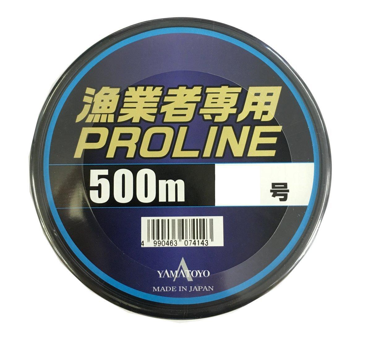 ヤマトヨテグス(YAMATOYO) ナイロンライン 漁業者専用 プロライン 500m グレー