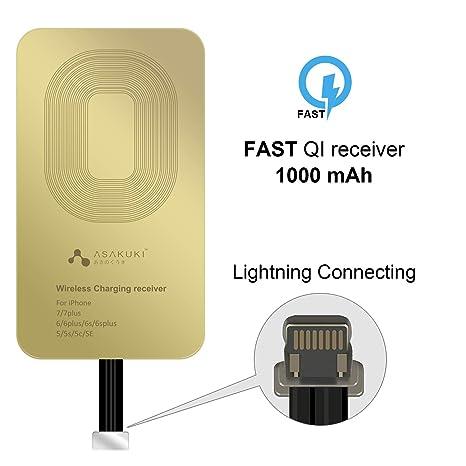 Amazon.com: ASAKUKI Receptor de carga inalámbrico, parche de ...