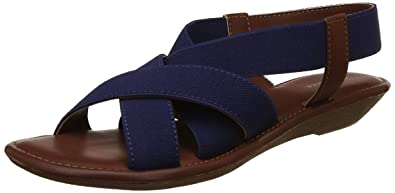 f53d6bfb3fd BATA Women's Nadiya Elastic Blue Fashion Sandals-3 UK/India (36 EU)