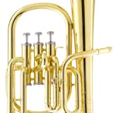 Mendini E Flat Alto Horn with Stainless Steel