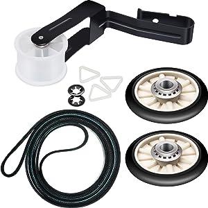 Jovitec 4392065 Dryer Repair Kit Including Belt 341241, Idler 691366, Rollers 349241t Replaces 4392065RC 279948 587636 80046 AP3131942