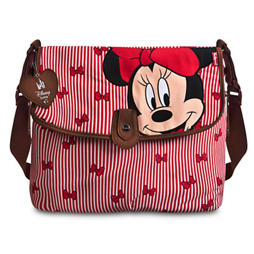 Minnie Mouse Diaper Bag w/ Changing Pad by BabyMel by Disney B00K4BE4OS