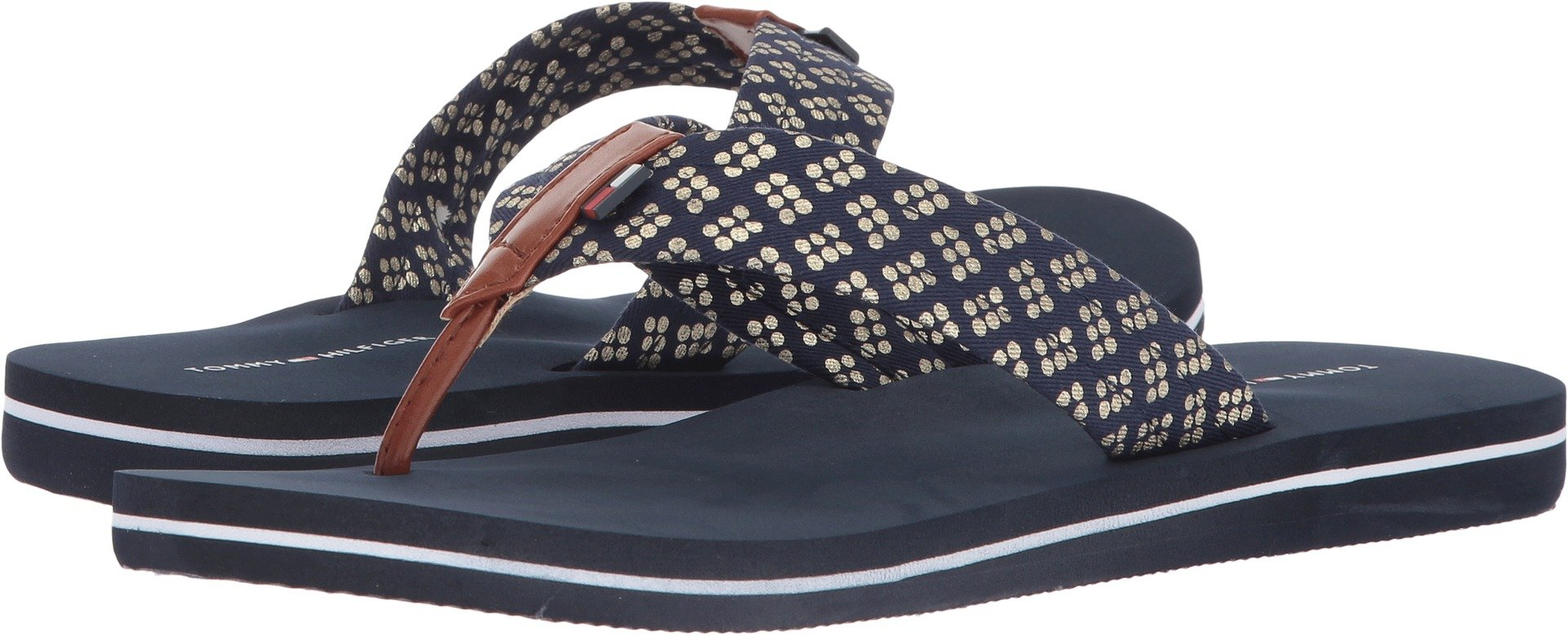 Tommy Hilfiger Women's Carsin2 Blue Multi 7 M US
