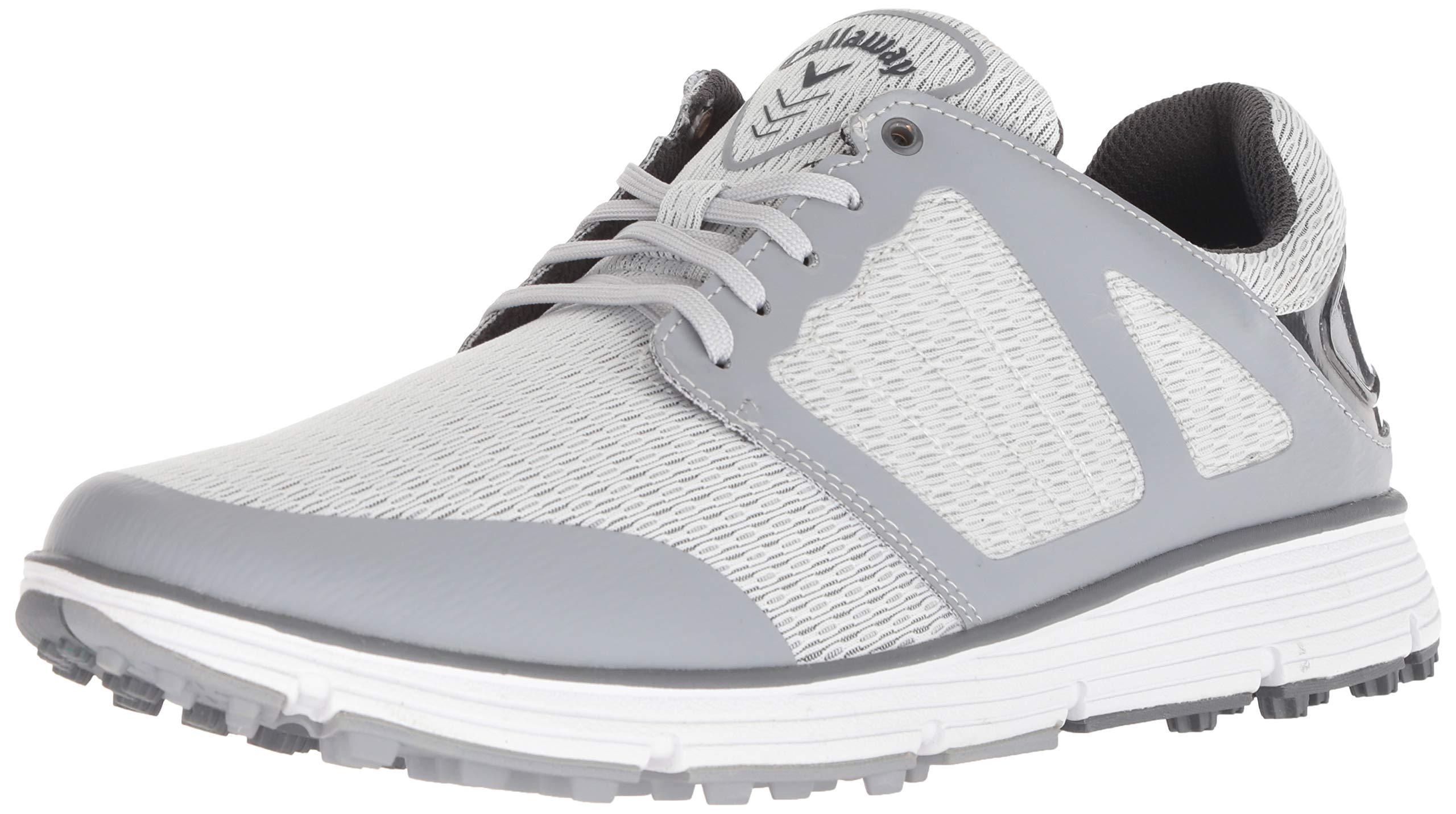 Callaway Men's Balboa Vent 2.0 Golf Shoe, Light Grey, 14 M US by Callaway