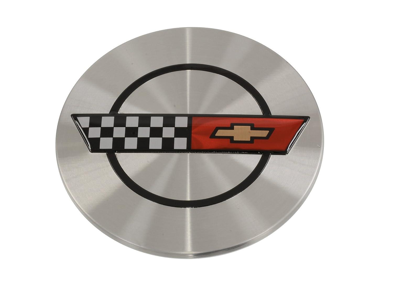 Amazon.com: 1986 – 1990 Corvette Rueda Center Cap w/Emblem ...