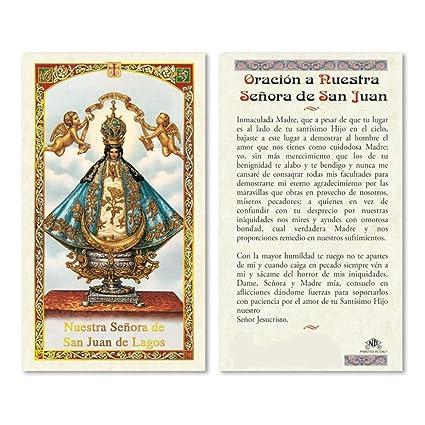 Amazon.com : Nuestra Senora de San Juan de Los Lagos Tarjeta ...
