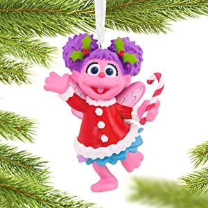 Sesame Street Abby Christmas Ornament