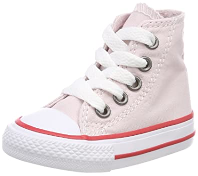 Womens CTAS Barely Rose/Tan/White Hi-Top Trainers, Beige (Barely Rose/Tan/White 653) Converse
