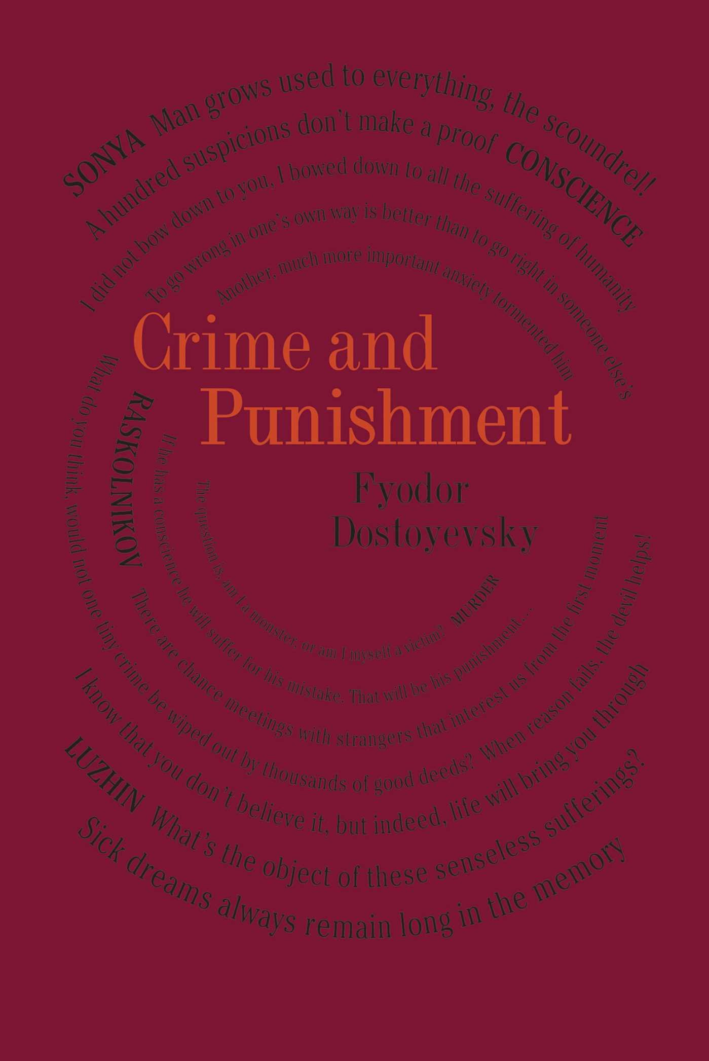 Crime and Punishment (Word Cloud Classics)