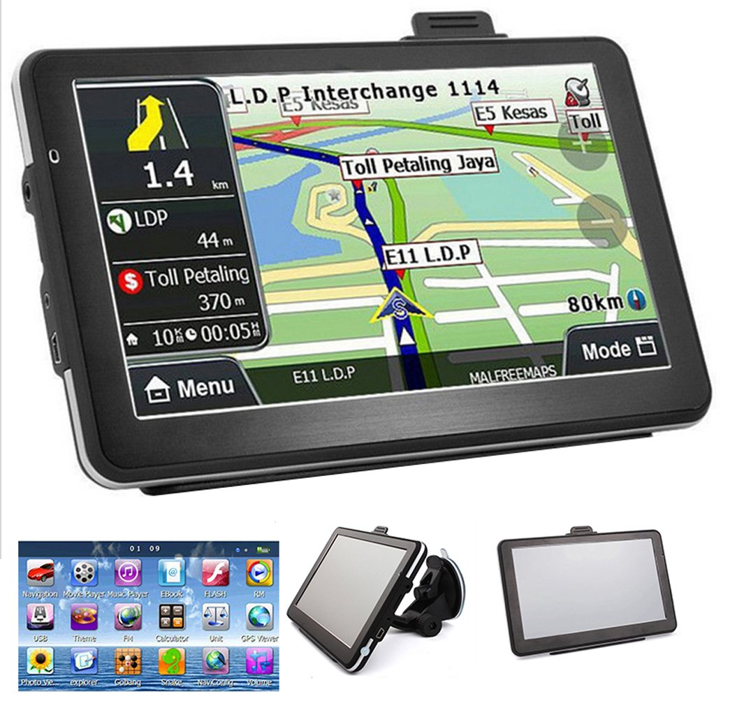 Vinmax 7' HD Touch Screen CAR TRUCK 4GB GPS Navigation Navigator SAT NAV