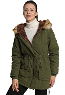 Amazon.com: HYIRI Halloween Winter Parka Outerwear ,Ladies ...