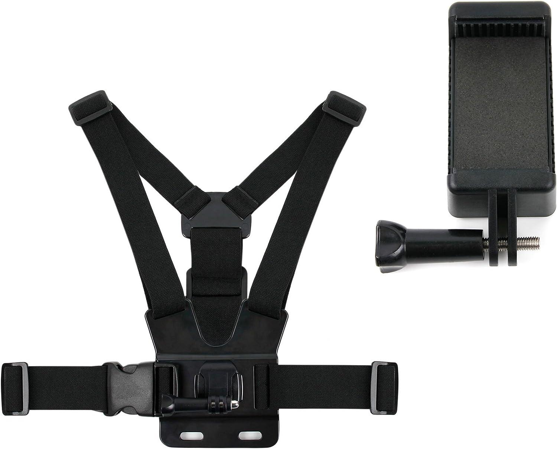 Pecho cesta de soporte y y soporte de smartphone para Xiaomi Mi Max 2 | Mi 6 | Mi 5 x Smartphones. Cámaras de Acción son también con el soporte para cesta de pecho. *.: Amazon.es: Electrónica