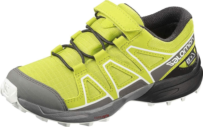 SALOMON Speedcross CSWP K, Zapatillas de Trail Running Unisex niños: Amazon.es: Zapatos y complementos