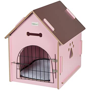 Amazon Ollieroo Dog House Crate Wooden Kennel Indoor Condo For