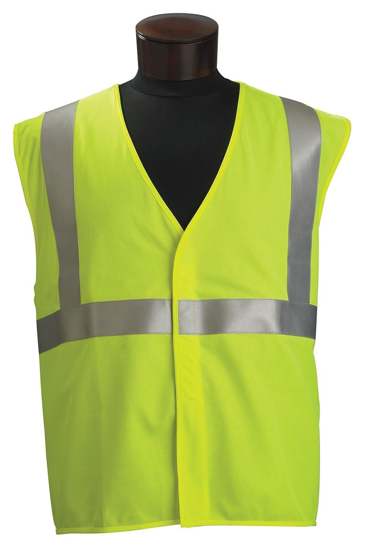 Jackson Safety ANSI Class 2 Standard Style Polyester Flame Retardant Safety Vest with Silver Reflective by Jackson Safety  B0069B0XM4