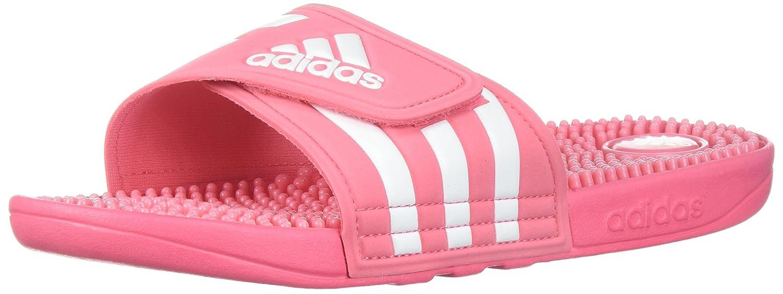 adidas Women's Adissage W Slide Sandal B071HWWRLY 5 B(M) US|Chalk Pink/White/Chalk Pink