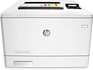 HP LaserJet Pro M452nw Wireless Color Laser Printer with Built-in Ethernet (CF388A) (Renewed)