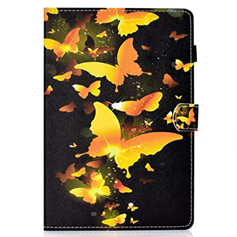 Coopay Tab A 8.0 Hülle,für Samsung Galaxy Tab A 8 Zoll T350 Schutzhülle,Ultradünne Case Full Body Lederhülle,Flip Standfunkti