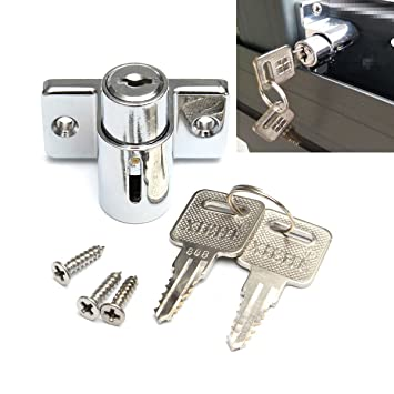Perno de bloqueo de aluminio, para puertas correderas, ventanas, protección para niños, instrumento de seguridad: Amazon.es: Hogar