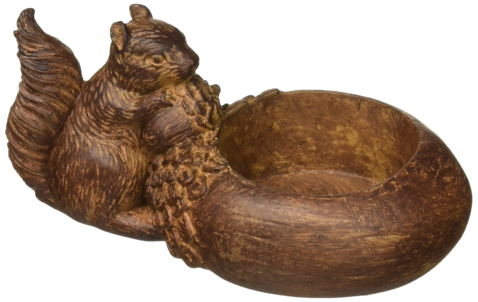 Abbott Collection Squirrel with Acorn Tealite