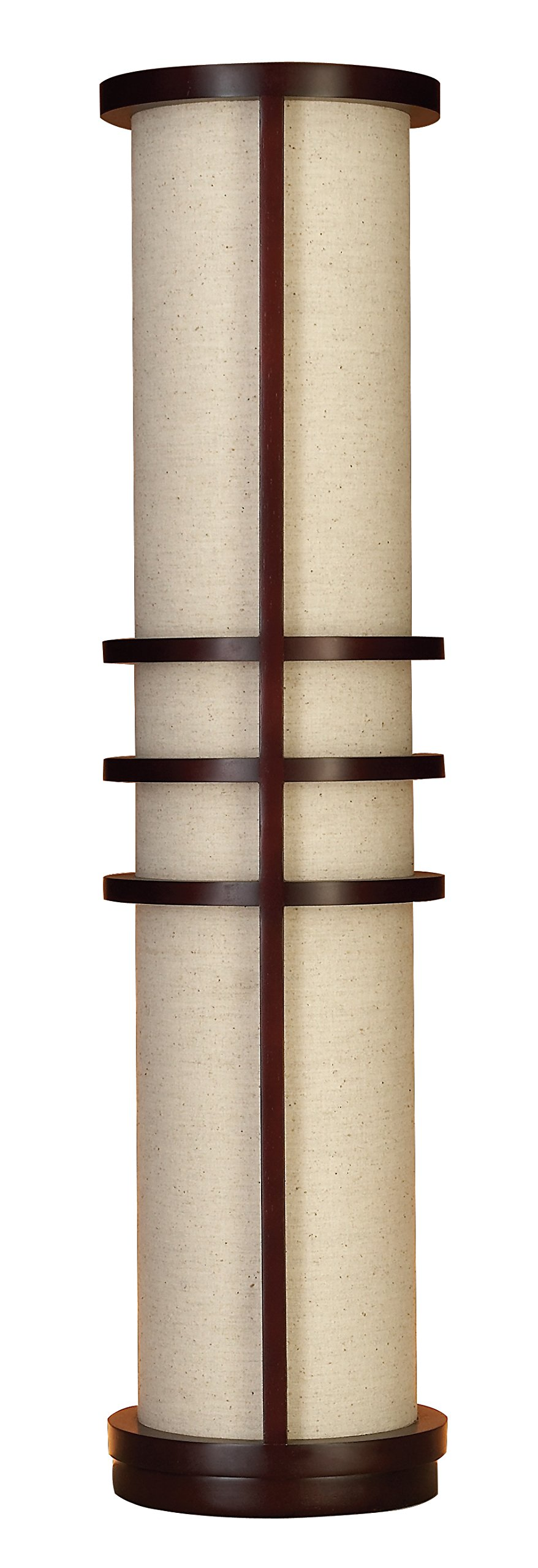 Deco 79 Wood Floor Lamp Made of Brown Wood
