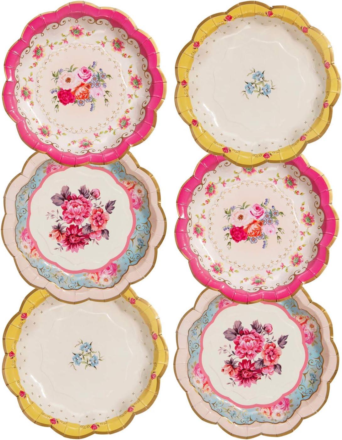 Vintage Baby Shower Paper Plates