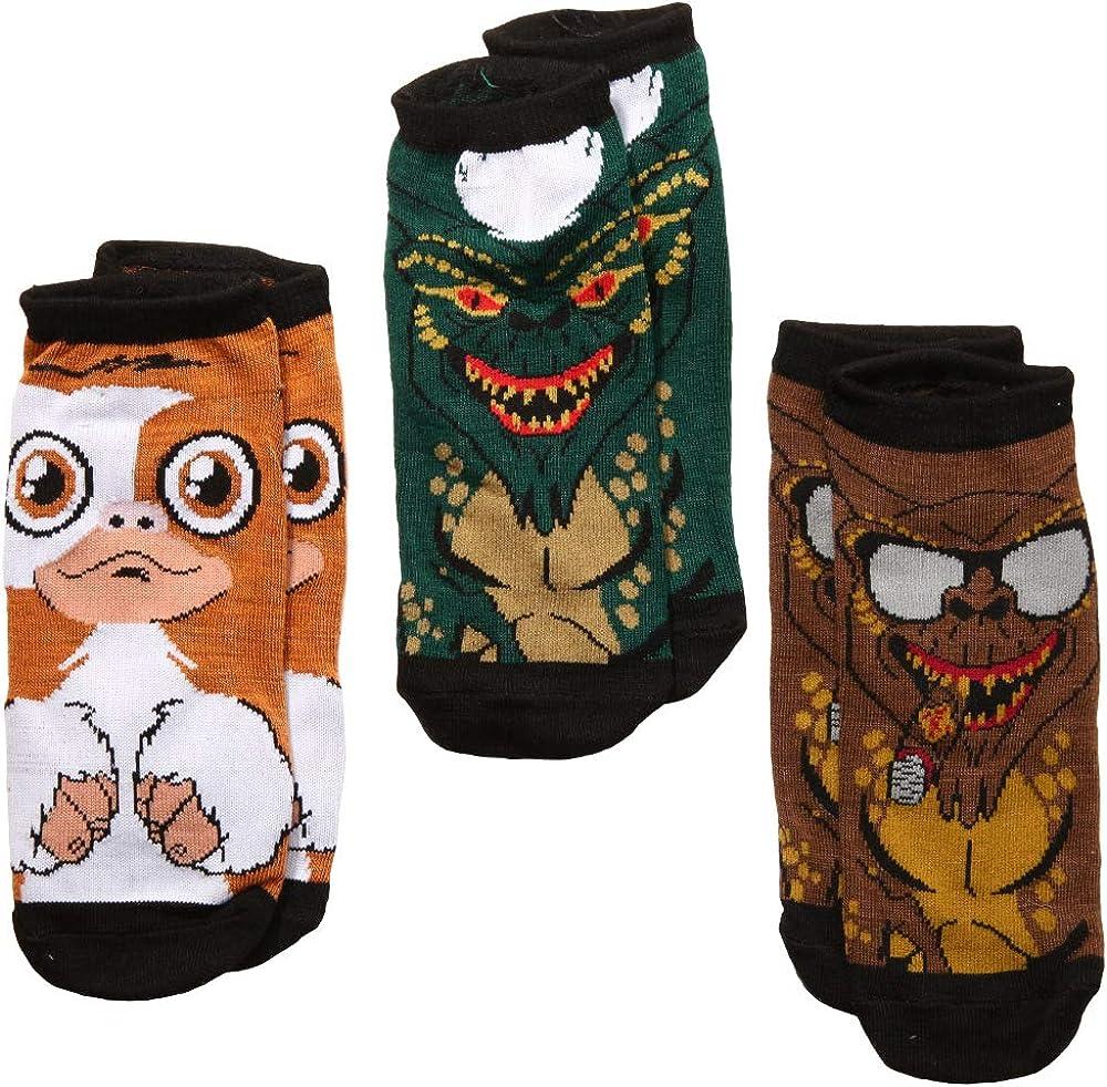 Gremlin Socks,Classic Thriller Gremlins Great Gift Idea,/'/'Gremlin Lovers Socks/'/' Stripe Gremlin Socks,Trendy Cute