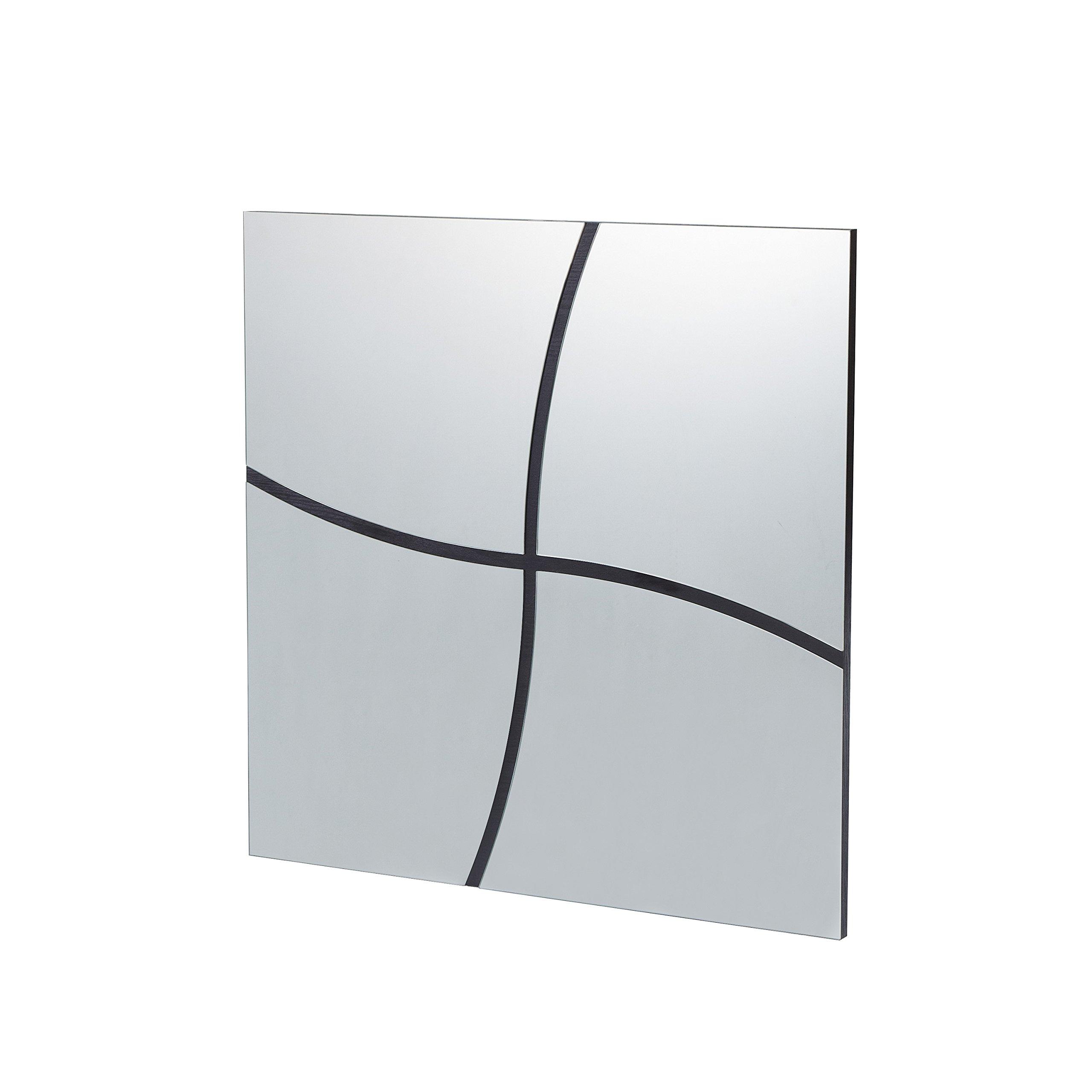 Furniture of America Contemporary Broken Design Decor Mirror - 32'' x 32''