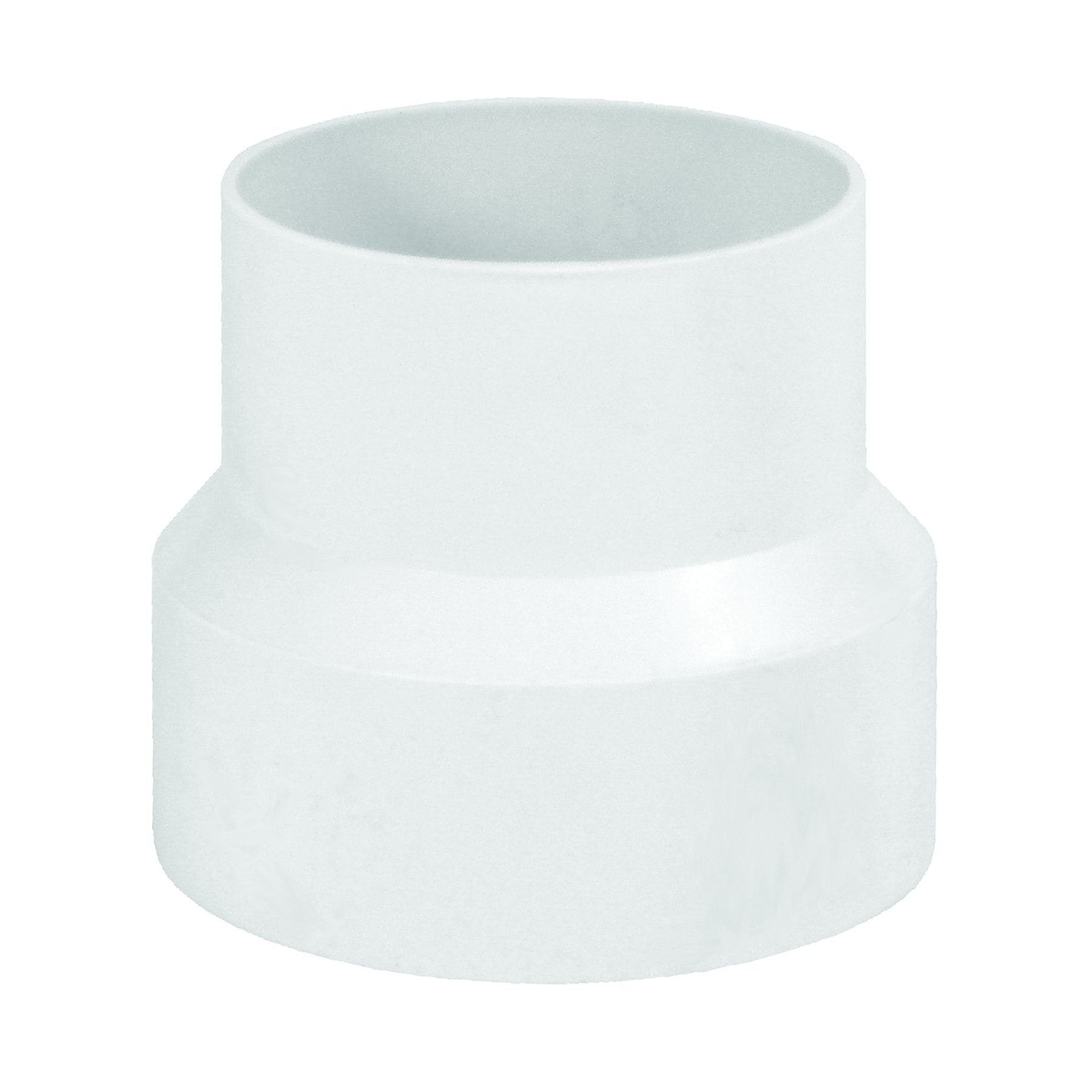 Deflecto Duct Plastic Increaser and Reducer, 4'' to a 3'', (IRB43)