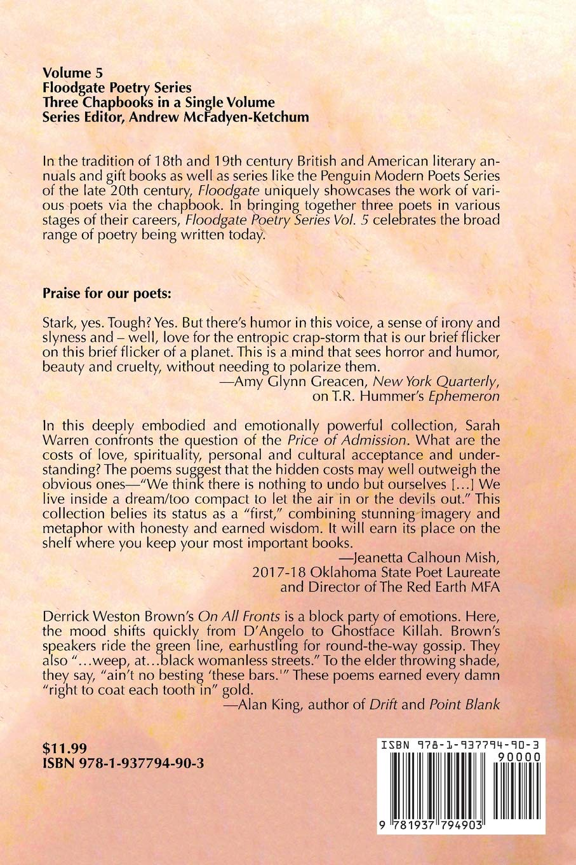 Floodgate Poetry Series Vol  5: Sarah Rebecca Warren