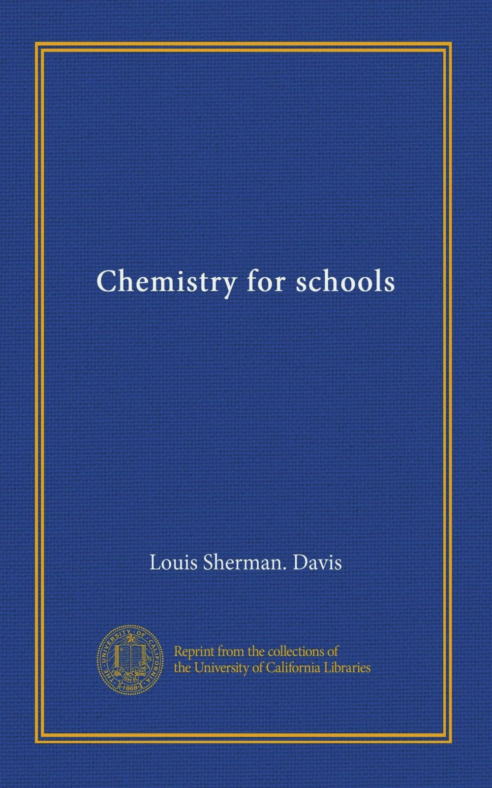 Download Chemistry for schools PDF